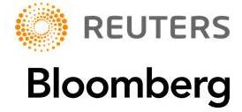 reuters and bloomberg